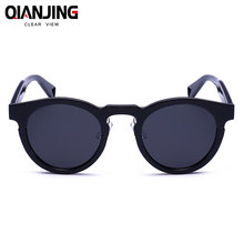 0e93f6c47 Mulheres Homens Retro óculos de Sol Espelho Reflexivo Óculos De Sol Oval  Moda Feminina Doce Cor Clara Famosa Marca Designer home.
