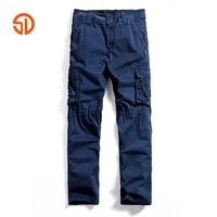 Frühling Herbst Mode Markenkleidung Lässig Männer Military Cargo Hosen Mehrfach Baumwollhose Männer 29-40 Overalls Keine gürtel