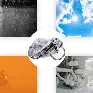 Image 2 - חיצוני עמיד למים וdustproof אופניים אופנוע אופני כיסוי אופניים עם חותם Strapes גשם כיסוי אופני אופניים מים כיסוי
