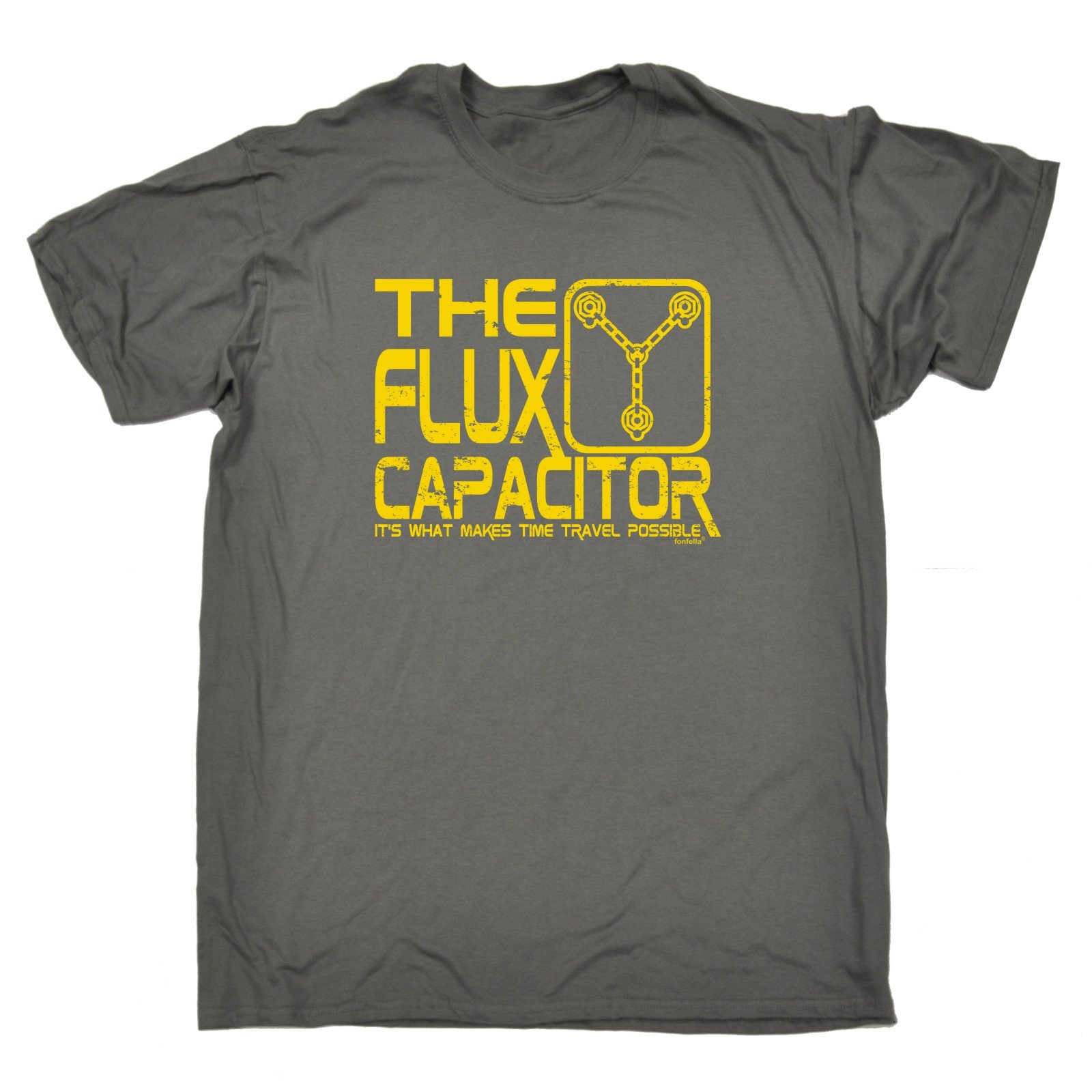 The Flux Capacitor Time Travel Possible T-SHIRT Fashion Funny Gift Birthday