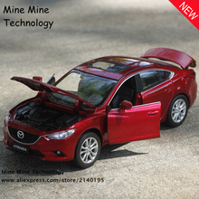 Double Horses 1 32 free shipping Mazda ATENZA Alloy Diecast Car Model Pull Back Toy Car