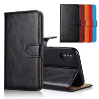 For Philips Xenium W6610 Case cover Kickstand flip leather Wallet case With Card Pocket