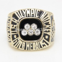 1984 USA Olympic Hockey Vrana Championship Rings Men Jewelry Finger For Lord Of The Rings Fine