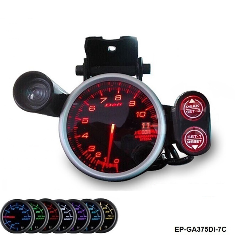 RACER GAUGE 80MM Tachometer 11000RPM 7 Color setting For BMW MINI Cooper S JCW W11 1.6 R ...