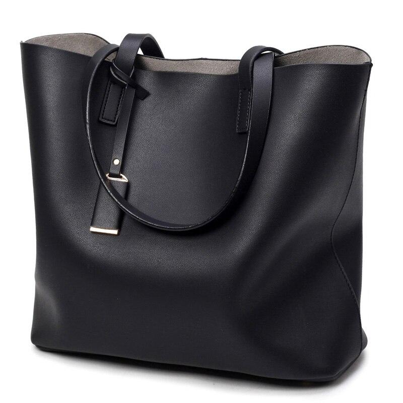 Luxury Handbags Women Bags Designer High Quality Leather Women Bag Black Big Sol