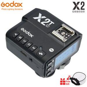 Image 1 - Godox X2T C X2T N X2T S X2T F TTL 1/8000s HSS transmetteur de déclenchement de Flash sans fil pour Sony Canon Nikon Fuji Olympus