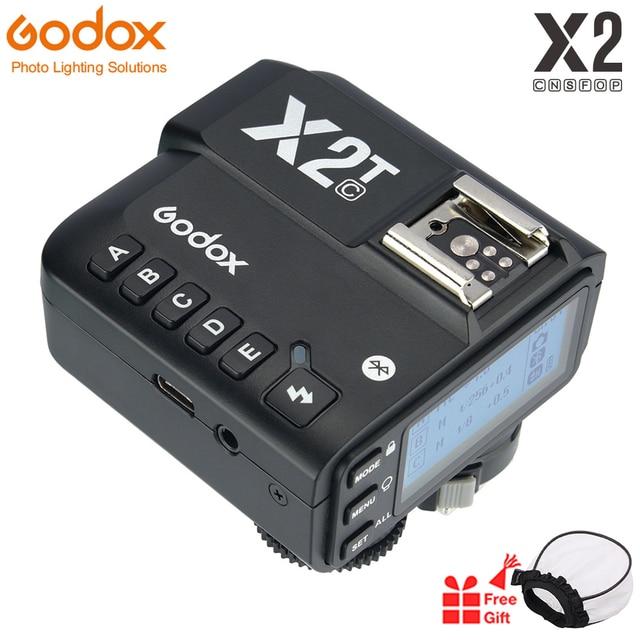 Godox X2T C X2T N X2T S X2T F TTL 1/8000s HSS transmetteur de déclenchement de Flash sans fil pour Sony Canon Nikon Fuji Olympus