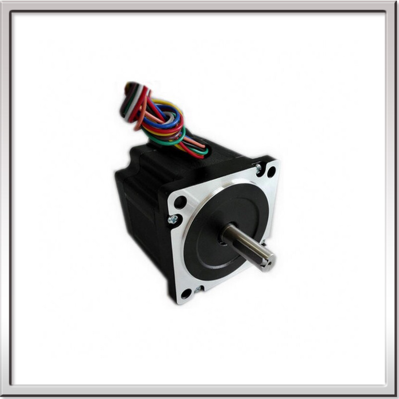 купить 1.8 Degree 86mm NEMA34 Closed loop 2phase 8wire hybrid stepper motor high torque 4.6N.m 3.2N.m length 78mm 3.15V 4.2A по цене 5361.6 рублей
