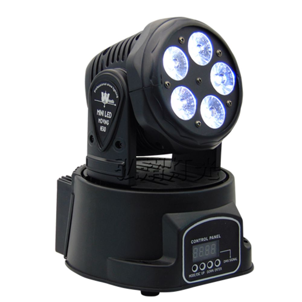 Factory arrive Dj lighting full color RGBWA UV 6in1 moving head stage light 5x18W led DMX Wash dj stage light disco party light free shipping disco stage club music dance 7x18w led mini moving head light rgbwa uv 6in1 bright lumiere dmx party dj lighting