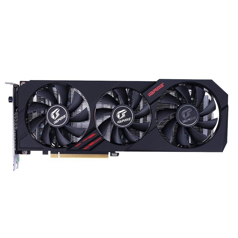 IGame coloré GeForce GTX 1660 Ti Ultra 6G carte vidéo de jeu 6 GB 192bit GDDR6 1845 Mhz PCI-EX16 3.0 carte graphique HDMI pour PC - 2