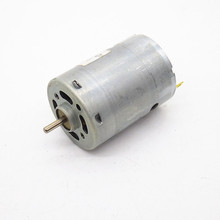 1pcs Mini Rs385 Motor Miniature Dc 12v 24v Magnetic 3800 7600rpm Diy Electric
