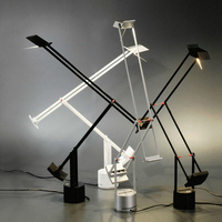 Ecolight Бесплатная доставка Современные светодиодные настольные лампы 5 Вт теплый белый на/выключения чтения настольная лампа офис свет