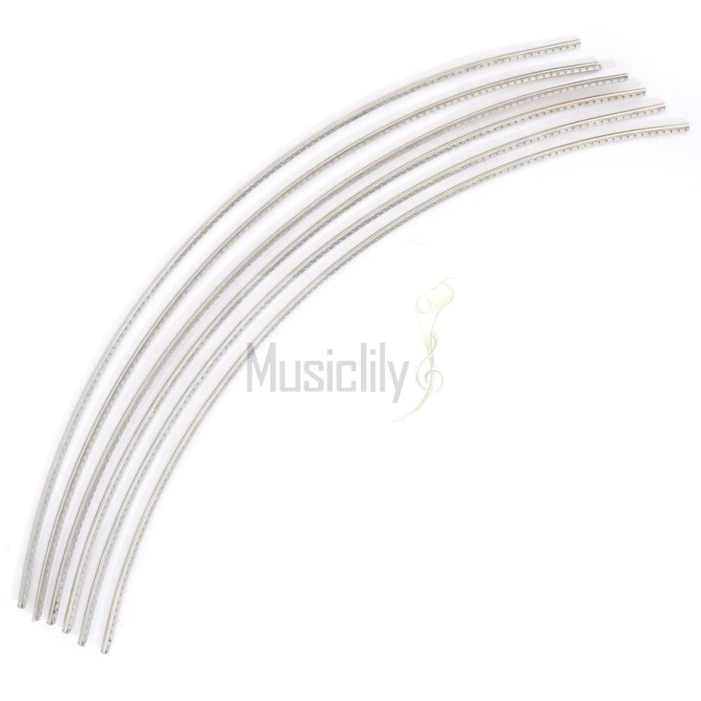 Musiclily Sintoms Premium Jumbo Fret Wire 2.7mm/2.9mm 18% Nickel Silver Extra Hard Set sintoms кусачки торцов ножки лада