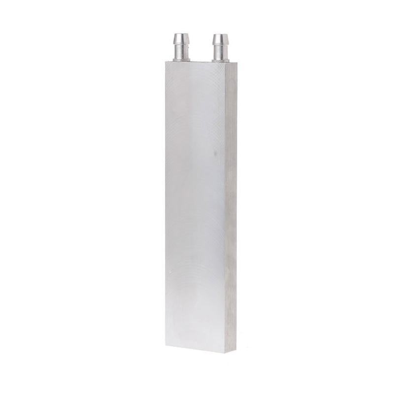 40*160mm Primary Aluminum Water Cooling Block Heat Sink System For PC Laptop CPU aluminum cpu radiator 40 40 12mm 80 120 160 200mm water cooling waterblock heatsink block liquid cooler for cpu gpu pc laptop