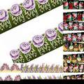 Hermosa Flor Manicura Tatuajes de Transferencia de Agua Nail Art Stickers Tips Decoración 1UAW 2N8X
