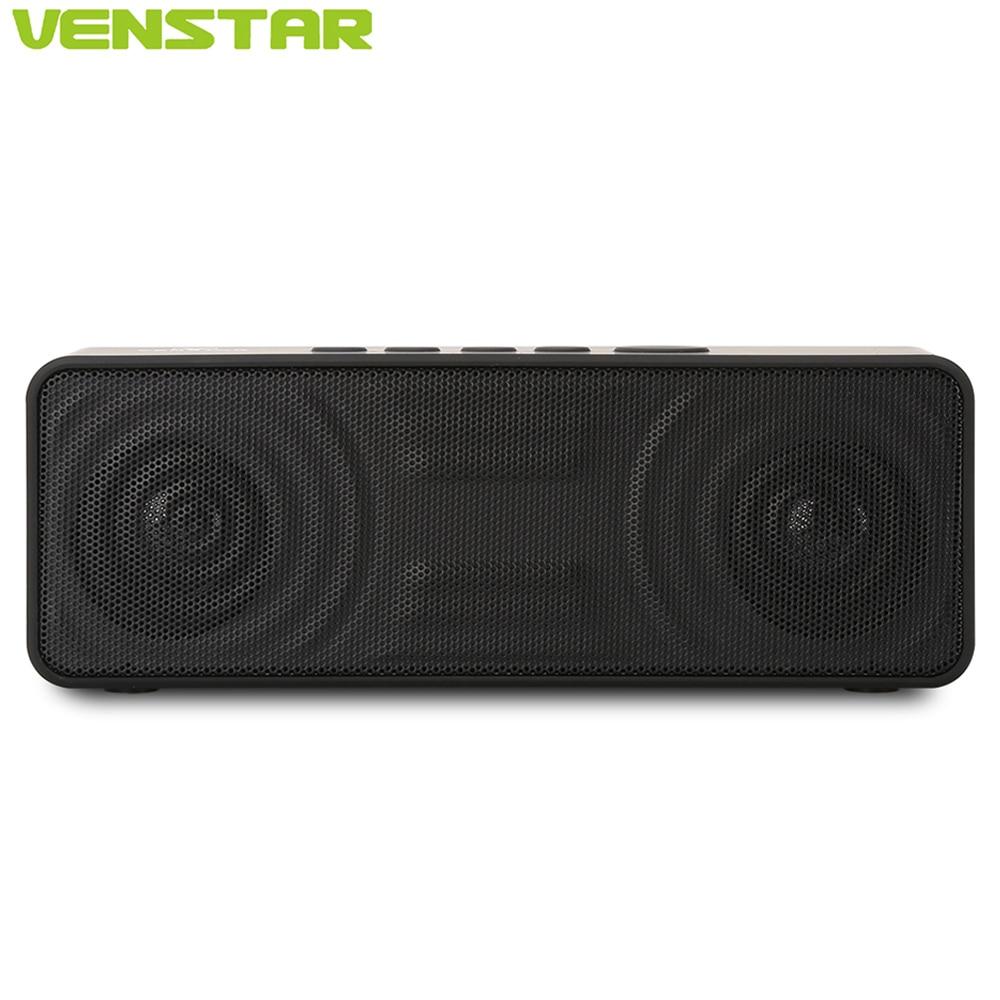 VENSTAR S207 Mini Wireless Bluetooth Speaker Built in 2800mAh Battery and 10W Subwoofers High Definition Sound Music Loudspeaker philips sb500 original aux loudspeaker bluetooth v4 1 built in microphone wireless ipx7 waterproof li battery music speaker