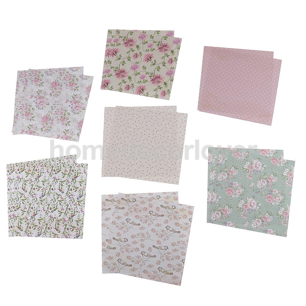 How to make scrapbook paper designs - 24 Sheets Scrapbooking Paper Craft Diy Card Making Photo Album Decorative Design Paper 15cm 6inch