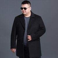 8XL 7XL Plus Size Winter Jacket Men Thickening Wool Coat Slim Fit Jackets Outerwear Warm Man