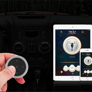 Image 5 - Kebidu רכב אופנוע הגה מוסיקה לשחק אלחוטי Bluetooth שלט רחוק מדיה כפתור להתחיל Siri עבור iOS/אנדרואיד טלפון