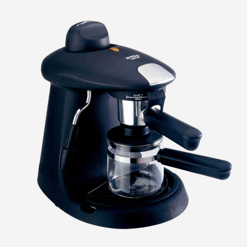 220V High Pressure Semi Automatic 5 Cups Steam Espresso Coffee Maker 5 Bar With Milk Bubble Drip Coffee Foam Machine EU/AU/UK