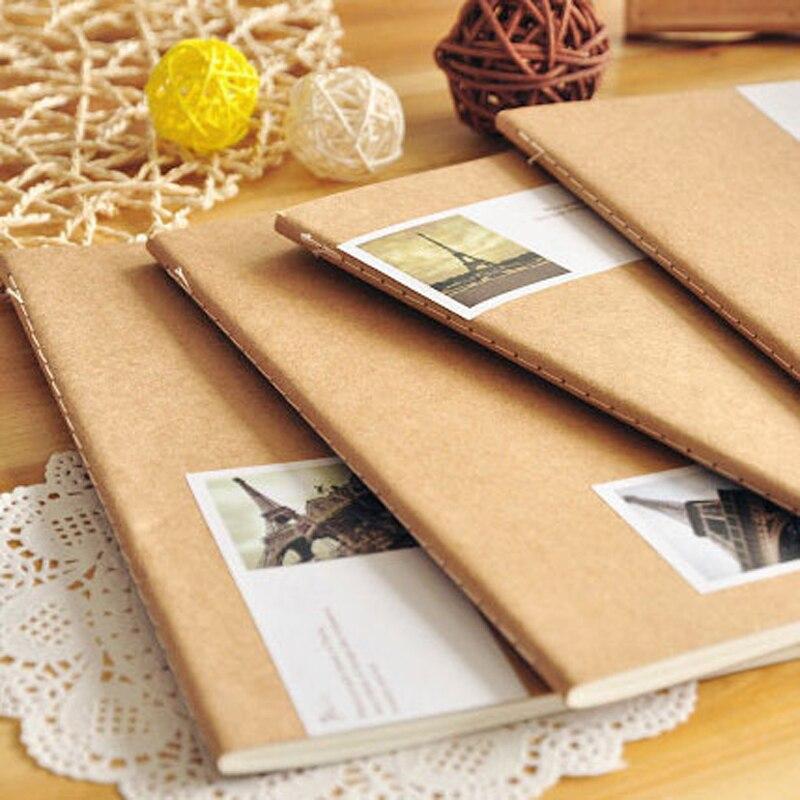 Notebook Escola Papelaria Material de Escritório Papel De Couro Do Vintage Capa Torre Série de Jornal de Viagem Notepad Caderno Macio A5