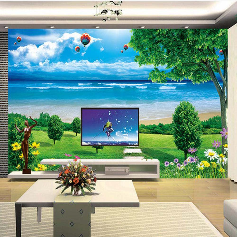 3d Wallpaper Mural Night Clouds Star Sky Wall Paper: Aliexpress.com : Buy Cloud Blue Sky Wallpaper Photo Wall