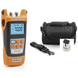 new fiber power mulmeter fiber optical power meter and 1-5KM visual fault locator in one machine with carry bag