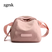Women Crossbody Bags Designer Satchel Nylon Zipper None Solid Leather Handbags Black Vintage Bag Bolsa Feminina
