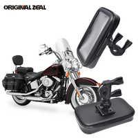 Bolsa impermeable Universal soporte moto rcycle soporte para teléfono soporte para bicicleta soporte para teléfono soporte movil moto para iPhone GPS