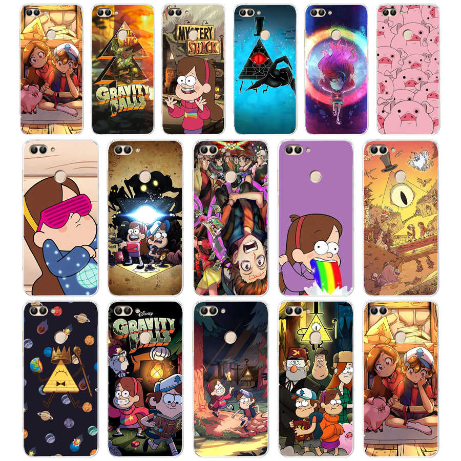 61 ZX Gravity Falls Soft Silicone Case For Huawei Honor Mate 20 pro View 10 p smart 2018 2019 cell phone Cover