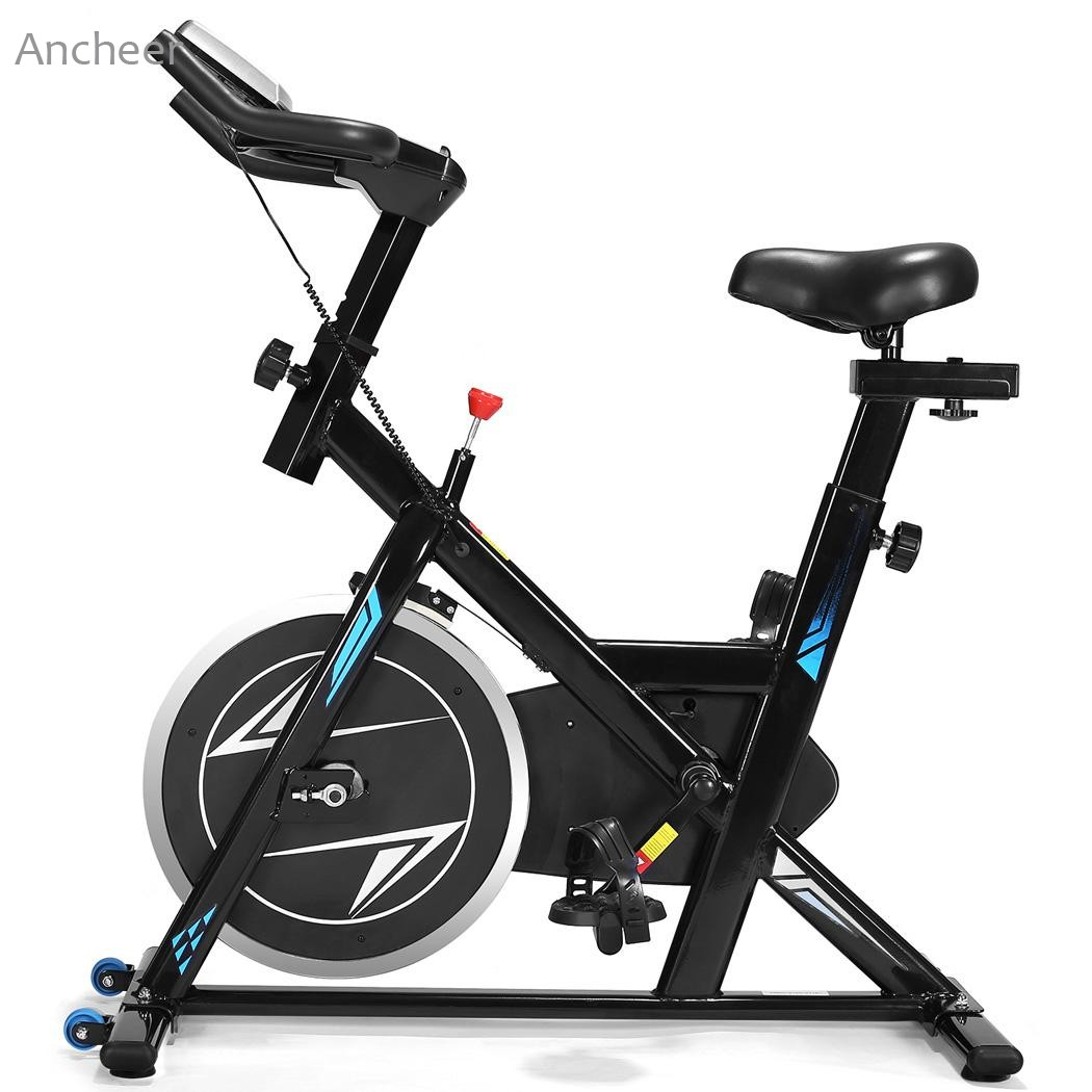 Ancheer Indoor Cycling Bikes Fitness Equipments Exercise Indoor Bike For Workout Fitness