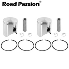 Road Passion Motorcycle STD 54mm Piston Ring Kit For Honda NSR250 p1 p2 p3 NSR 250