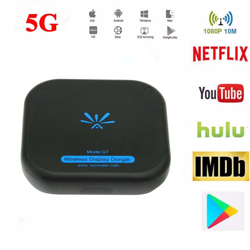 Dongle Stick-Wifi-Display Media-Video Miracast Digital HDMI Android 5G TV G7 For IOS