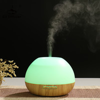 GX Diffuser Newest 300ml Aroma Diffuser 7 LED Colors Light Ultrasonic Air Purifier Household Office Spa