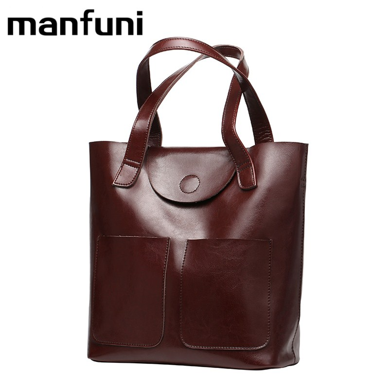 MANFUNI European retro style Handle Bags For Women Genuine Leather shoulder bag Top Cross body Bag female vintage Casual Tote 5pcs htd5m belt 550 5m 15 teeth 110 length 550mm width 15mm 5m timing belt rubber closed loop belt 550 htd 5m s5m belt pulley