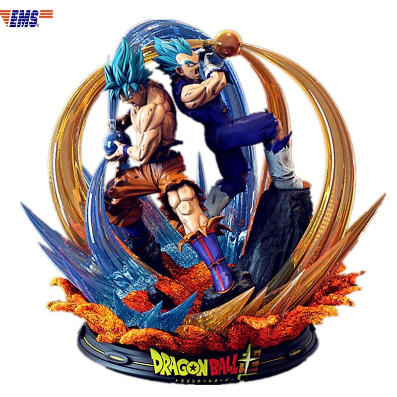 Presale Dragon Ball Super Blue Goku & Super Blue Vegeta Joint Operations Resin Statue Model (Delivery Period: 60 Days) X450Presale Dragon Ball Super Blue Goku & Super Blue Vegeta Joint Operations Resin Statue Model (Delivery Period: 60 Days) X450