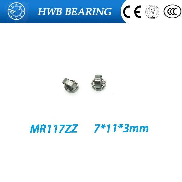 Free Shipping 10pcs\lot MR117ZZ MR117 ZZ MR117Z MR117-2Z 7*11*3 bearings Fishing bearing 7 x11 x 3mm miniature bearings free shipping 10pcs mr62zz mr63zz mr74zz mr84zz mr104zz mr85zz mr95zz mr105zz mr115zz mr83zz miniature bearing