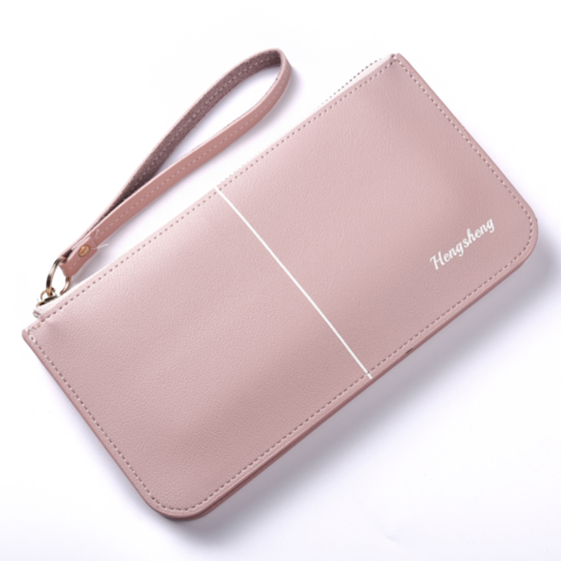 Zipper Case Kashelek Klachi Female Women Wallet Clutch Bag For Girl Phone Coin Purse Lady Cuzdan Change Pouch Partmone Portmann
