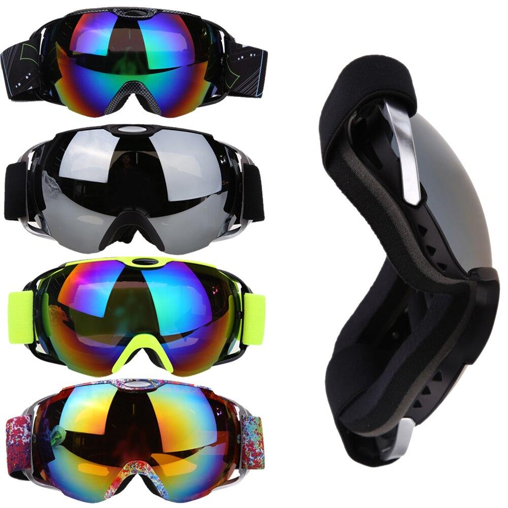 Prix pour Ski lunettes ski et snowboard Lunettes Unisexe Double Lentille Unisexe Double Lentille UV400 Anti-brouillard Sphérique De Patinage Ski Goggle