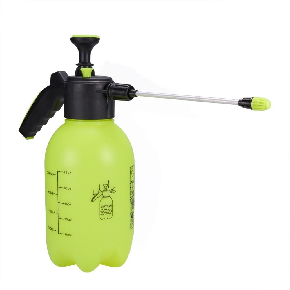 Car Cleaning Sprayer Bottle 2L Pressure Spray Hand Pressed Watering Automobile Accessories Spray Bottle