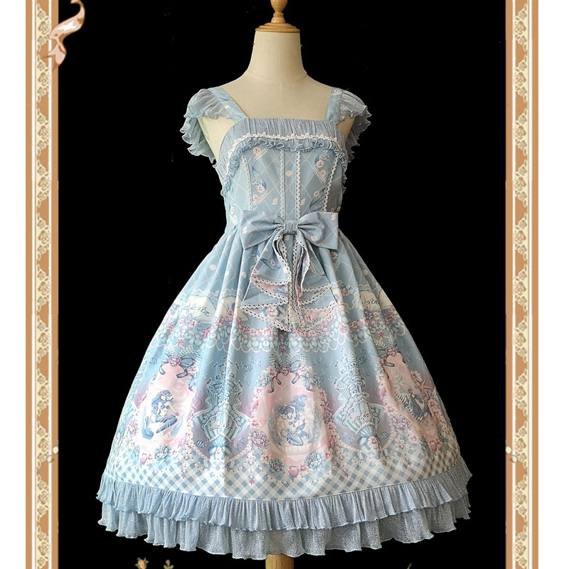 Little Mermaid Sweet Printed Lolita JSK Dress by Infanta