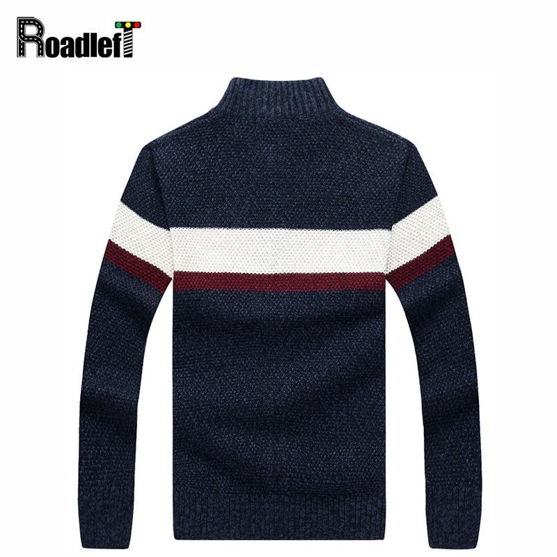 Autumn Winter Mens Fashion Casual Brand Zipper Sweater Cardigan Men ...