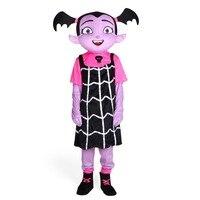 Vampirina талисмана большой профессиональный качества для девочек вампира для взрослых Хэллоуин Пурим вечерние нарядное платье