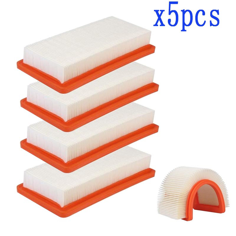 5 PCS/SETWashable Karcher Filter For DS5500,DS6000,DS5600,DS5800 Robot Vacuum Cleaner Parts Karcher 6.414-631.0 Hepa Filters