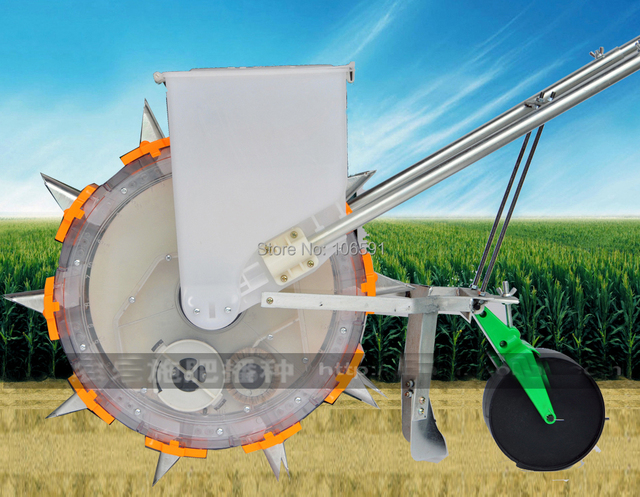 Hand Seeder Corn Soybeans Cotton Hand Push Seeder Roller Seeder
