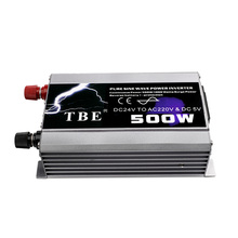 цена на 500W Pure Sine Wave Car Inverter DC 12V/24V TO AC 220V Auto Power Converter Solar Inverter Peak Power 1000W