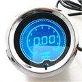 """2 """"52mm Azul LED Tacômetro RPM Carro Digitais LEVOU Calibre Tacômetro"""