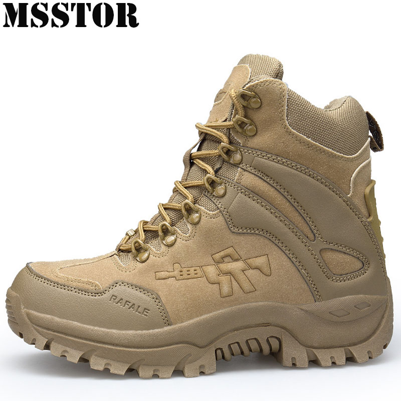 MSSTOR Men Hiking Shoes Hunting Trekking Camping Shoes Man Brand Tactical Boots Outdoor Athletic Climbing Male Sneakers Sport mulinsen winter2017 tactical boots hiking shoes for men climbing mountain sport shoes man brand ankle boots men s sneakers