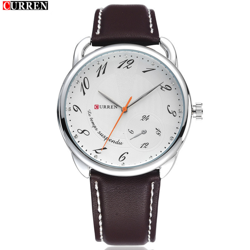 FASHION Neutral Small Dial Waterproof Quartz Watches Restoring Ancient Ways Is Popular Outdoor Business Strap Watch Man Watches