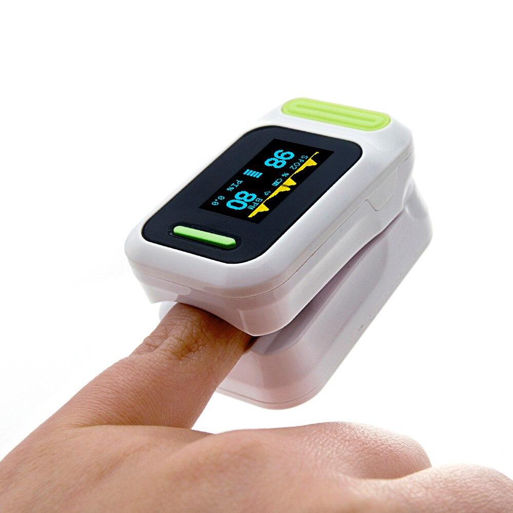 Quente Na Ponta Do Dedo Oxímetro de Pulso OLED Taxa de Saturação Oxímetro De Pulso Oxímetro de Dedo freqüência cardíaca digital de equipamentos médicos de cuidados de Saúde